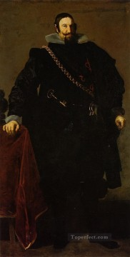 Don Gaspar de Guzman Count of Oliveres and Duke of San Lucar la Mayor2 portrait Diego Velazquez Oil Paintings
