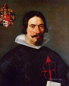 Francisco Bandres de Abarca portrait Diego Velazquez Oil Paintings