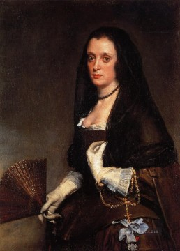 Diego Velazquez Painting - Lady with a Fan portrait Diego Velozquez