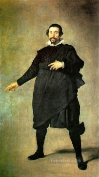 Pablo de Valladolid portrait Diego Velazquez Oil Paintings