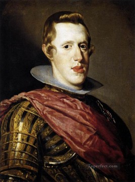 Philip IV In Armour 1628 portrait Diego Velazquez Oil Paintings