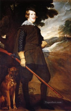 Philip IV as a Hunter portrait Diego Velazquez Oil Paintings