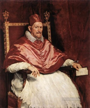 Diego Velazquez Painting - Portrait of Innocent X Diego Velozquez