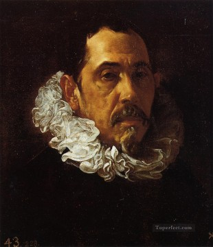 Diego Velazquez Painting - Portrait of a Man with a Goatee Diego Velozquez