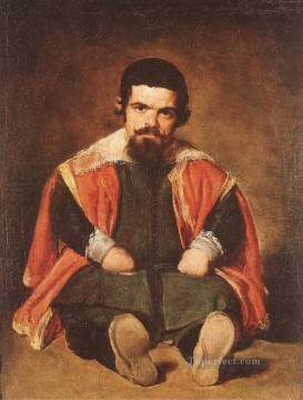 Sebastian de Morra portrait Diego Velazquez Oil Paintings