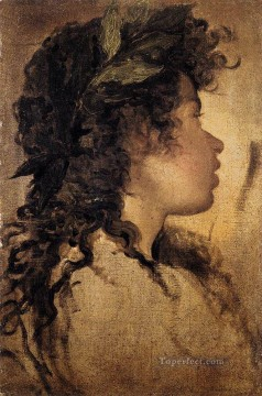 Diego Velazquez Painting - Study For The Head Of Apollo Diego Velozquez