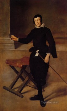 Diego Velazquez Painting - The Buffoon Calabazas portrait Diego Velozquez