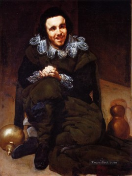 Diego Velazquez Painting - The Buffoon Calabazas2 portrait Diego Velozquez