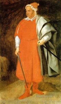 Diego Velazquez Painting - The Buffoon Don Cristobal de Castaneda y Pernia aka Red Beard portrait Diego Velozquez