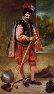 Diego Velazquez Painting - The Buffoon Juan de Austria portrait Diego Velozquez