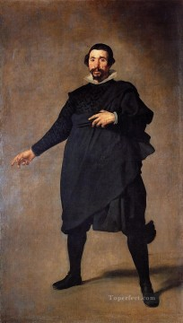 Diego Velazquez Painting - The Buffoon Pablo de Valladolid portrait Diego Velozquez