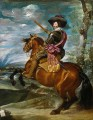 The Count Duke of Olivares on Horseback 肖像 迭戈·委拉斯开兹