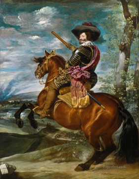Diego Velazquez Painting - The Count Duke of Olivares on Horseback portrait Diego Velozquez