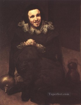 Diego Velazquez Painting - The Dwarf Don Juan Calabazas called Calabacillas portrait Diego Velozquez