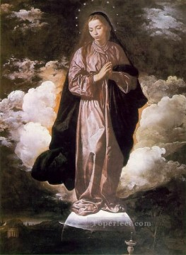 Diego Velazquez Painting - The Immaculate Conception Diego Velozquez