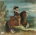 Philip IV on Horseback portrait Diego Velazquez