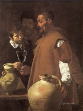 Diego Velazquez Painting - THe Waterseller of Seville Diego Velozquez