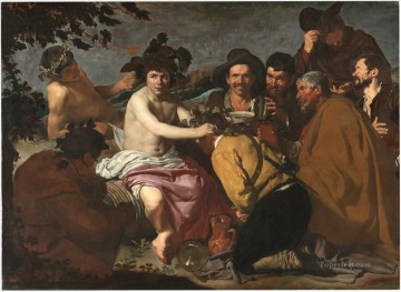 Diego Velazquez Painting - Los Borrachos The Triumph of Bacchus Diego Velozquez
