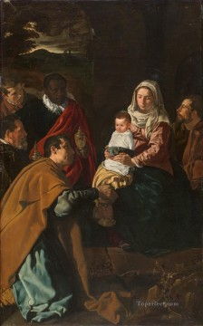 Adoration Art - The Adoration of the Magi Diego Velazquez