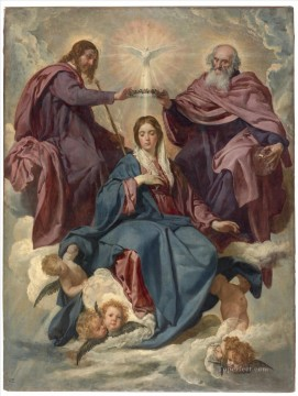 The Coronation of the Virgin Diego Velazquez Oil Paintings