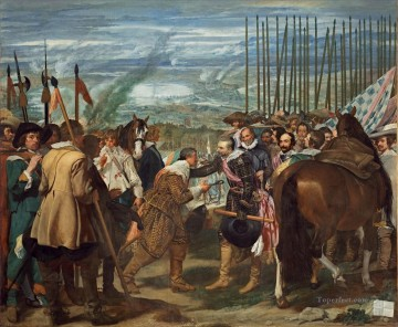The Surrender of Breda Diego Velazquez Oil Paintings