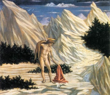 renaissance - St John in the Wilderness Renaissance Domenico Veneziano