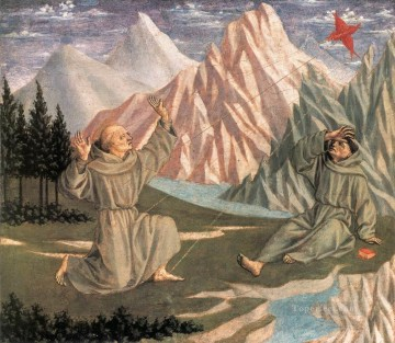 dome Art - The Stigmatization of St Francis Renaissance Domenico Veneziano