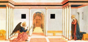 renaissance Painting - Annunciation Renaissance Domenico Veneziano