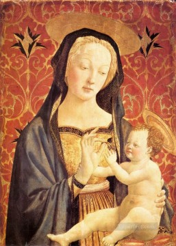 Madonna and Child 1435 Renaissance Domenico Veneziano Oil Paintings
