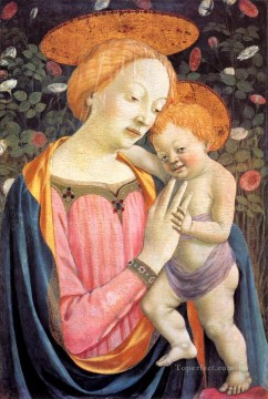 Madonna and Child 3 Renaissance Domenico Veneziano Oil Paintings