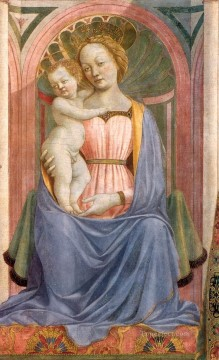 The Madonna and Child with Saints3 Renaissance Domenico Veneziano Oil Paintings