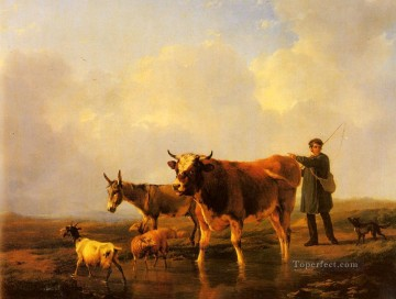 cross - Crossing The Marsh Eugene Verboeckhoven animal cattle