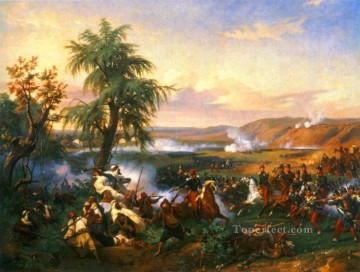 The Battle of Harba Horace Vernet Arabian Oil Paintings