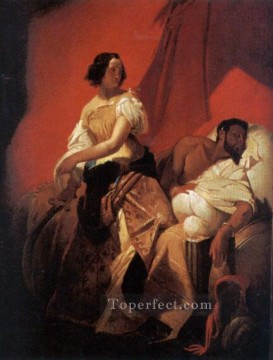Judith and Holofernes Horace Vernet Oil Paintings