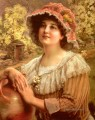 Country Spring girl Emile Vernon