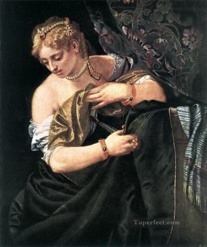 Lucretia Renaissance Paolo Veronese Oil Paintings