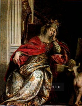 Paolo Canvas - The Vision of Saint Helena Renaissance Paolo Veronese