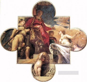 Ceres Renders Homage to Venice Renaissance Paolo Veronese Oil Paintings