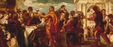 renaissance Painting - The Marriage at Cana 1560 Renaissance Paolo Veronese