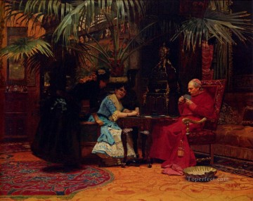 George Painting - The Chu academic painter Jehan Georges Vibert