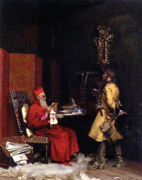 George Painting - Un Secret DetatPrivate Collection academic painter Jehan Georges Vibert