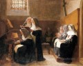 The Convent Choir academic painter Jehan Georges Vibert