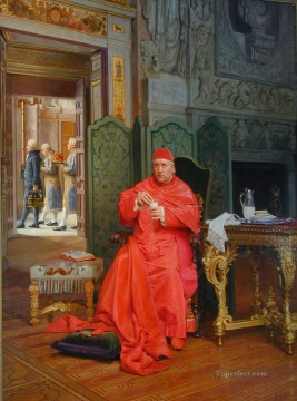 George Painting - The Diet academic painter Jehan Georges Vibert