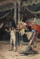 The Bullfighters Adoring Crowd academic painter Jehan Georges Vibert