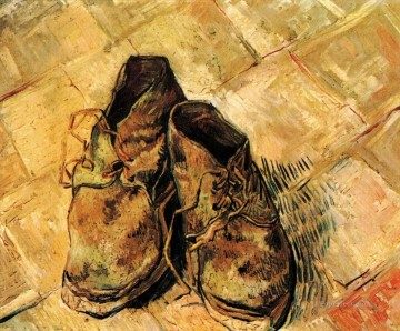 Vincent Van Gogh Painting - A Pair of Shoes Vincent van Gogh