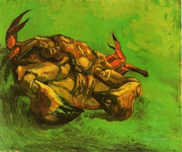 Crab on It s Back Vincent van Gogh Oil Paintings