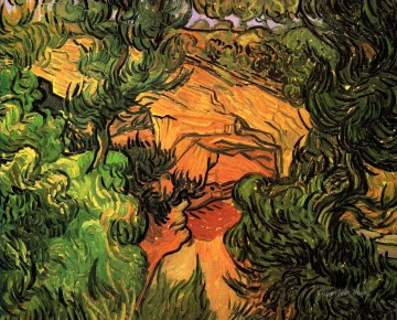 Gogh Canvas - Entrance to a Quarry Vincent van Gogh