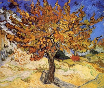 Mulberry Tree Vincent van Gogh Oil Paintings