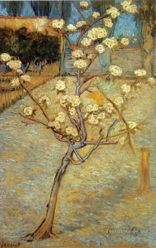 Vincent Van Gogh Painting - Pear Tree in Blossom Vincent van Gogh