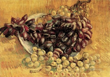 Vincent Van Gogh Painting - Still Life with Grapes Vincent van Gogh